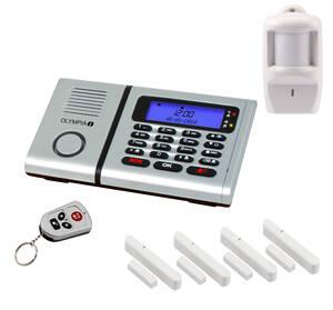 Funk - Alarmanlagen Set Protect 6061 mit Notruf...
