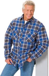 Holzfällerhemden, blau kariert