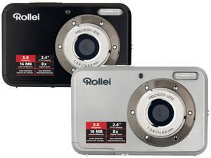 Digitalkamera Compactline 52 mit 5 MP 8-fach Zoom und 2 4 LCD Display Rollei