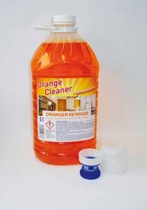 Orangenreiniger Konzentrat 5L Kanister inkl. Dosierbecher und Auslaufhahn