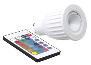 LED Reflektorlampe PAR16 mit Farbwechsel und Fernbedienung, GU10, 3,5 Watt XQ-lite