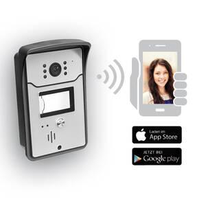 WiFi Video Türsprechanlage mit Infrarot und Bewegungserkennung