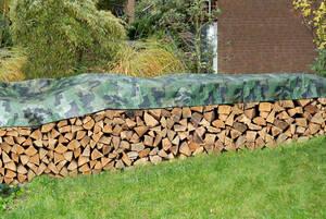 Holzstapelabdeckplanen in verschiedenen Größen Westfalia