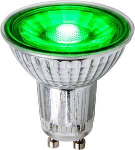 LED Leuchtmittel GU10, 5W grün Heitronic