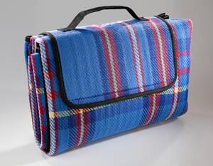 Auto-Reise-Decke mit Griff, Farbe blau