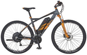 E-Bike Alu-MTB Twentyniner 29 BERGSTEIGER 7.8 REX