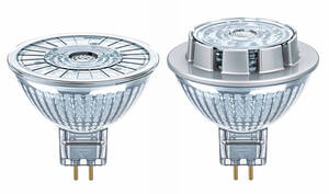 LED STAR MR16 12 V Reflektorlampen Osram