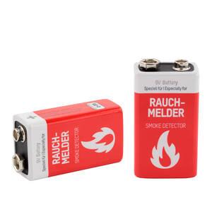 9V Block Alkaline Batterie speziell für Rauchmelder - 2 Stück Ansmann Preisvergleich