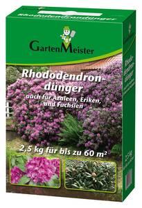Rhododendrondünger 2,5 kg GartenMeister