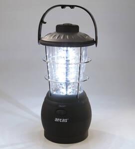 LED Laterne mit 36 LEDs, Kompass und Aufhängeha...