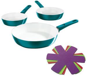 Keramik - Hochrandpfannen inklusive 3 Pfannensc...