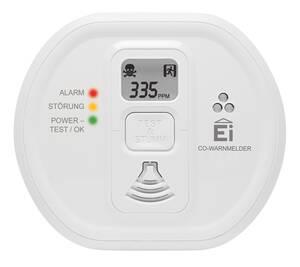 Kohlenmonoxid (CO) Warnmelder Ei208D mit LCD-Display EI Electronics