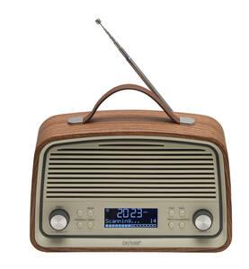 Digitales Retro Radio mit DAB+ und UKW DENVER®