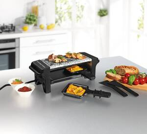 Raclette - Grill 2in1 Gourmet Maxx