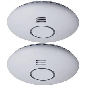 Koppelbarer Rauchwarnmelder in 2er Set Smartwares®