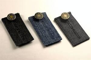 Jeans - Verschlusseinsätze 3-teilig