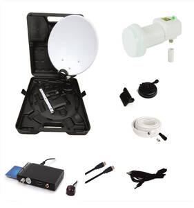 Camping Satelliten Anlage mit HD Receiver, Easy...