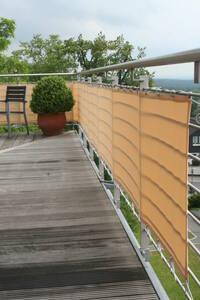 Balkonverkleidung Sisal, verschiedene Größen Peddy Shield
