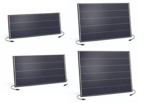 PV Insel Solarmodule mit Schindeltechnik Esotec