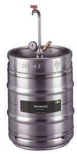 Druckfass 50 Liter aus Edelstahl Speidel