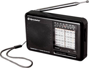 Portables Multibandradio FM/MW/SW 1-7 mit Kopfh...