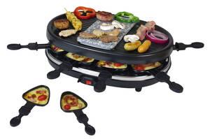 2 IN 1 Raclette-Grill und heißer Stein Kalorik
