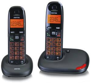 Schnurlose Großtasten DECT Telefone Switel
