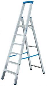 Stufen Stehleiter Alu, 3 Stufenleiter KRAUSE | Baumarkt > Leitern und Treppen > Stehleiter | KRAUSE