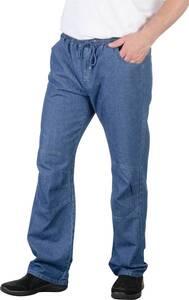 Komforthose mit Gesäßtaschen, Farbe blau | Bekleidung > Hosen > Komforthosen | Baumwolle