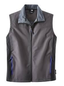 Softshellweste, für Beruf und Hobby, Farbe grau | Bekleidung > Westen > Softshellwesten | Polyester