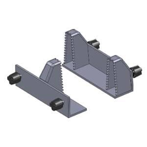 Holzklauen Set für Croc-Lock, 2 Stück BATAVIA