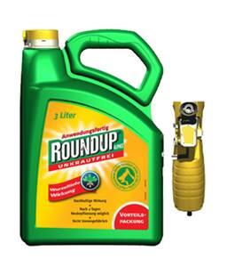 Unkrautfrei Roundup ALPHEE in verschiedenen Größen Roundup