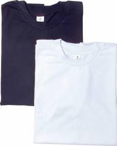 T-Shirts, 2er Pack, 1 x schwarz, 1 x weiß