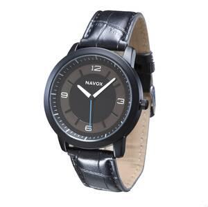 Armbanduhr mit analoger Anzeige, Quarzwerk, sch...