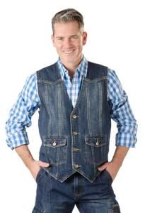 Jeans Weste im lässigen Schnitt | Bekleidung > Westen > Jeanswesten | Jeans