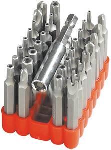 Elektro Reparatur Bit Set 33 tlg. mit 50 mm Schaft Westfalia
