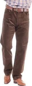 Cordhosen in 5 Pocket - Stil, Farbe braun | Bekleidung > Hosen > Cordhosen