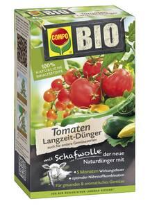 Image of Bio Langzeit Tomatendünger mit Schafwolle, 750 g Compo