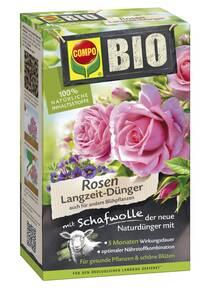 Bio Rosen Langzeit Dünger - in verschiedenen Pa...