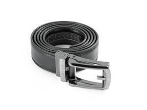 Image of Automatik Click Gürtel, Leder, Farbe schwarz