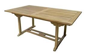 Tisch SOLO, ausziehbar, rechteckig, Teak Garden...