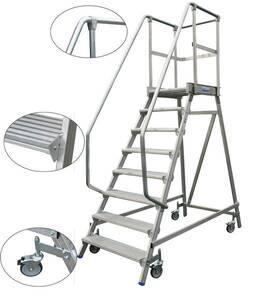 Podestleiter 3 Stufen Alu Leiter KRAUSE   Baumarkt > Leitern und Treppen > Aluleiter   KRAUSE