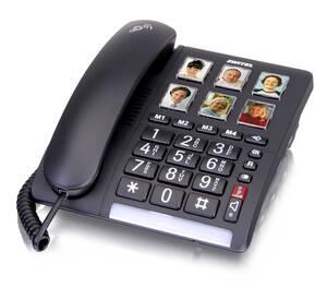 Komfort Telefon mit extra lautem Klingelton und...