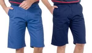 Bermudashorts Crossfield   Bekleidung > Shorts & Bermudas > Bermudas   Baumwolle - Polyester   Crossfield
