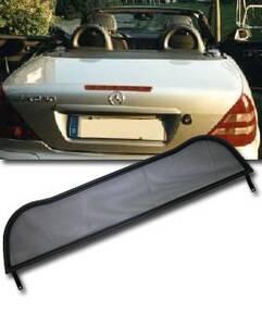 Windschott Mercedes SLK, Chrom Bügel Weyer