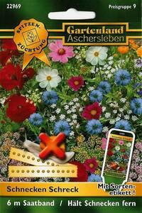 Schnecken Schreck - eine Blumenmischung gegen S...