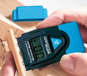 Feuchtemessgerät für Holz und andere Materialien Westfalia