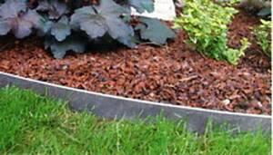Anti-Schneckenzaun aus verzinktem Blech, 100 cm...