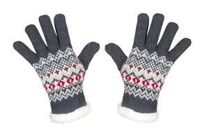 Strick Handschuhe mit weichem Fleece gefüttert,...