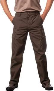 Outdoor Hosen mit wasserabweisender Beschichtung, Farbe oliv   Bekleidung > Hosen > Outdoorhosen   Popeline